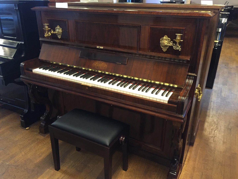 - Andere Marke - Erard 138 Piano von 1911 in Palisander matt